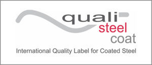 qualicoatsteel label